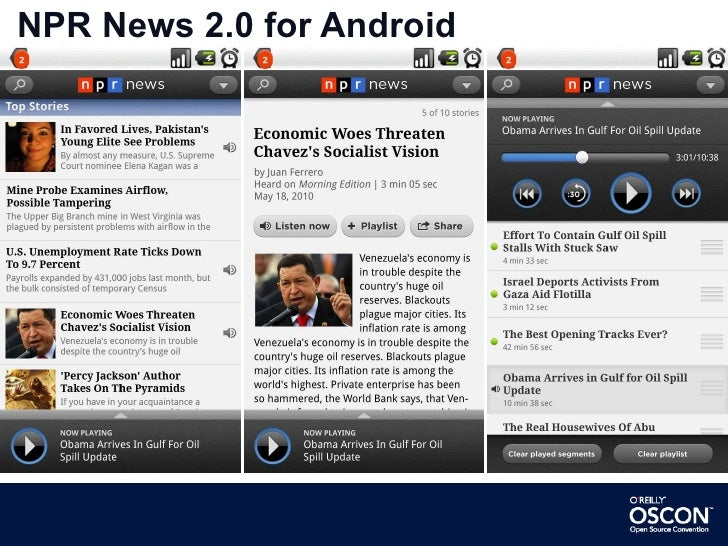 NPR News 2.0 for Android