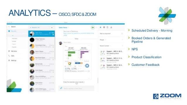 Cisco Spark and ZOOM Netpromoter Scoring 2016