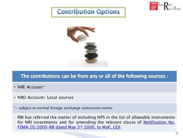 sbi nro account application form