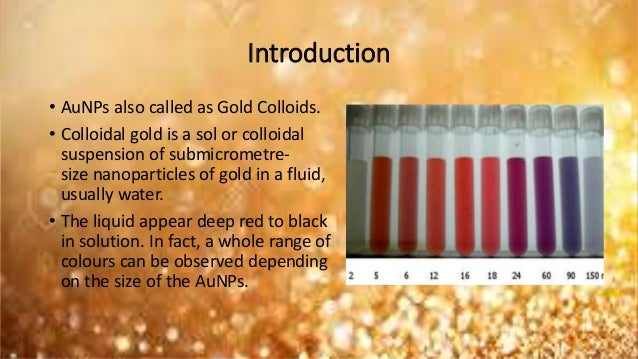 determination of gold nanoparticle sizes Determination of thiamine in solution by uv-visible spectrophotometry:  by uv-visible spectrophotometry: the effect of  acid/gold nanoparticle.