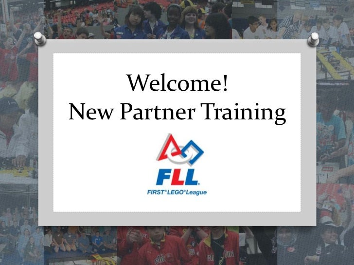 Welcome! New Partner Training<br />