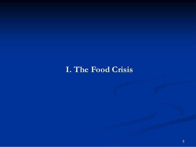 3 I. The Food Crisis