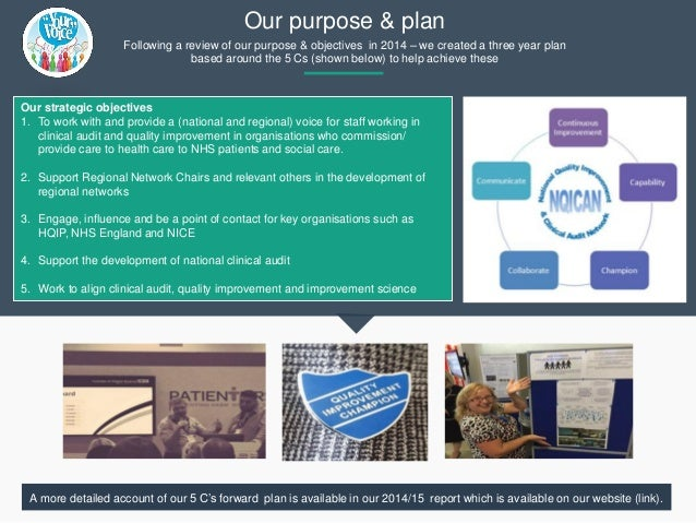 National Quality Improvement & Clinical Audit Network (NQICAN) Annual Report 2016 Slide 3
