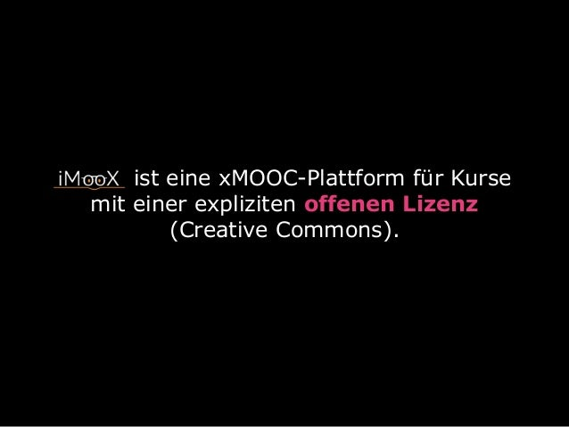 MOOCs und OER - Wozu? Slide 3