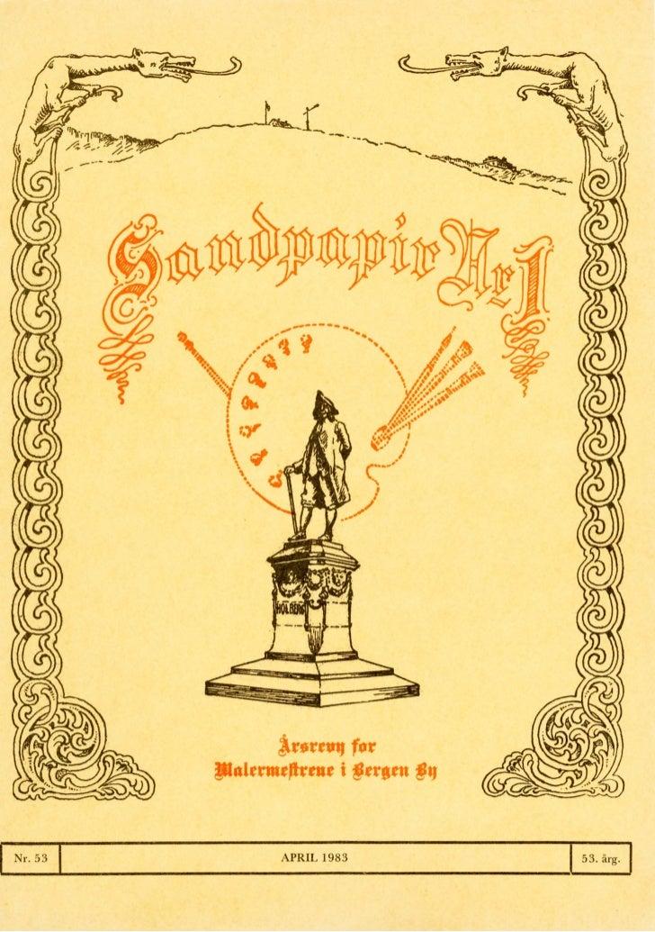 Sandpapir Nr. 53 1983