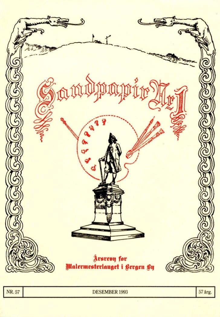 Sandpapir Nr. 57 1993