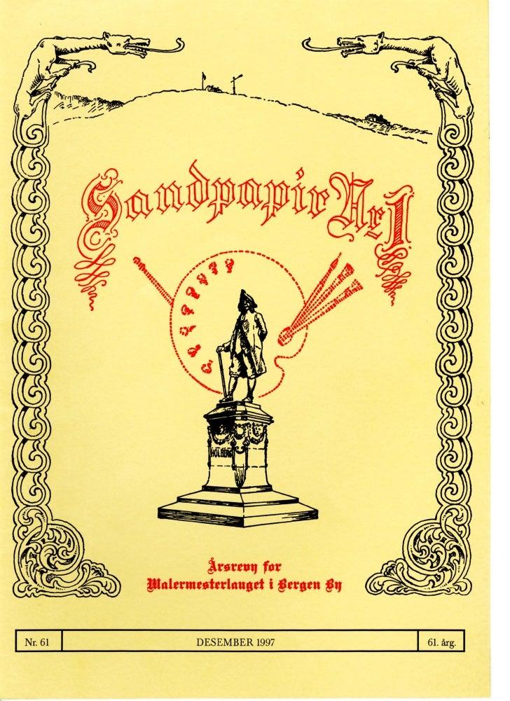 Sandpapir Nr. 61 1997
