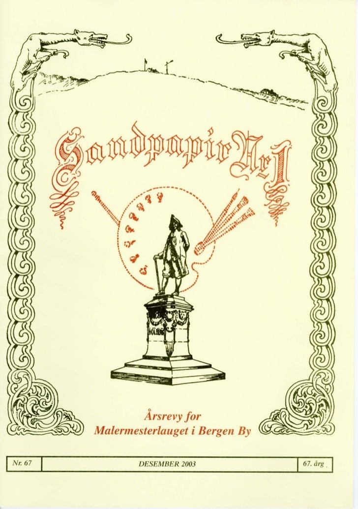 Sandpapir Nr. 67 2003