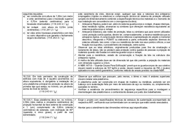 BAIXAR COMENTADA NR 18