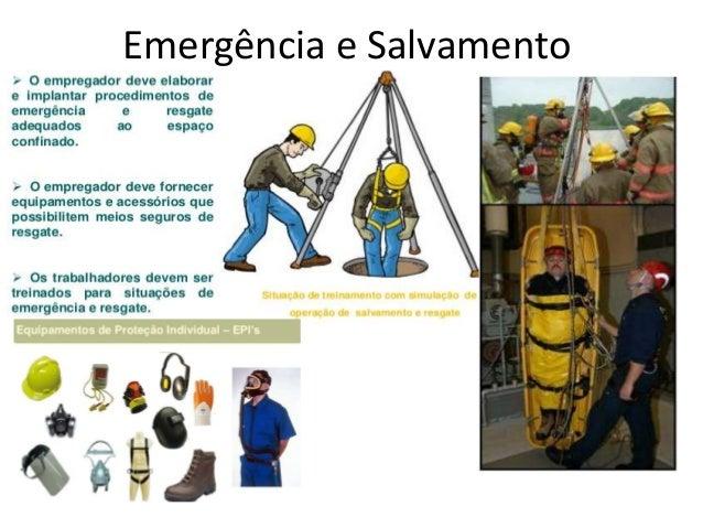 Nr – 33 Segurança e Saúde no Trabalho Em espaços Confinados