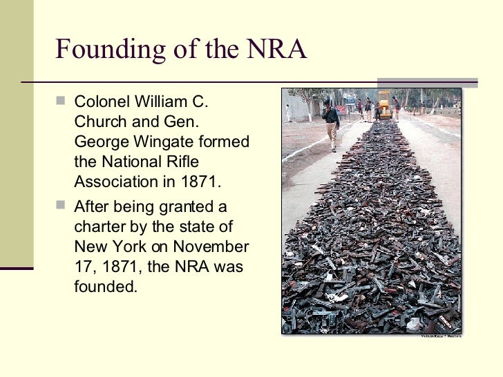 the primary goal and achievements of the national rifle association nra A detailed account of the national recovery administration that the national recovery administration (nra) into a federally supervised trade association.