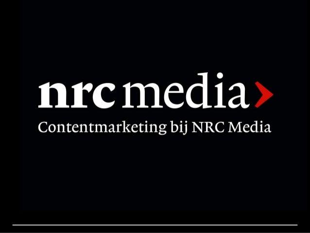 L&DJ PR F5-Sessie community building en content marketing, Annelies Verhulst, NRC Media