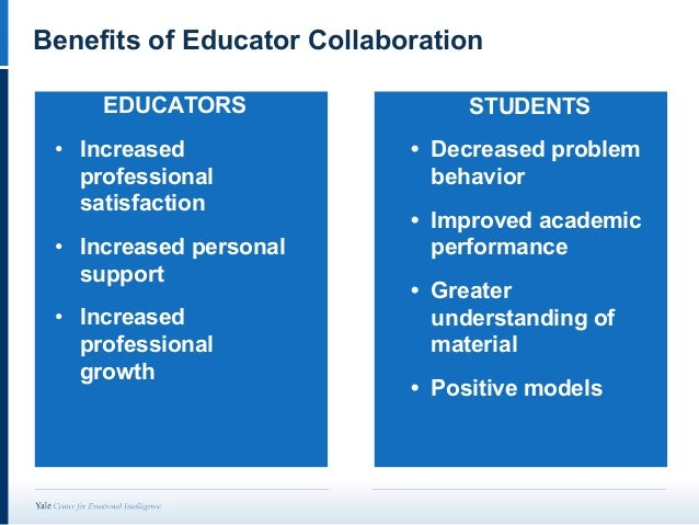 Collaborative Teaching Benefits To Students ~ Improving students social emotional outcomes through