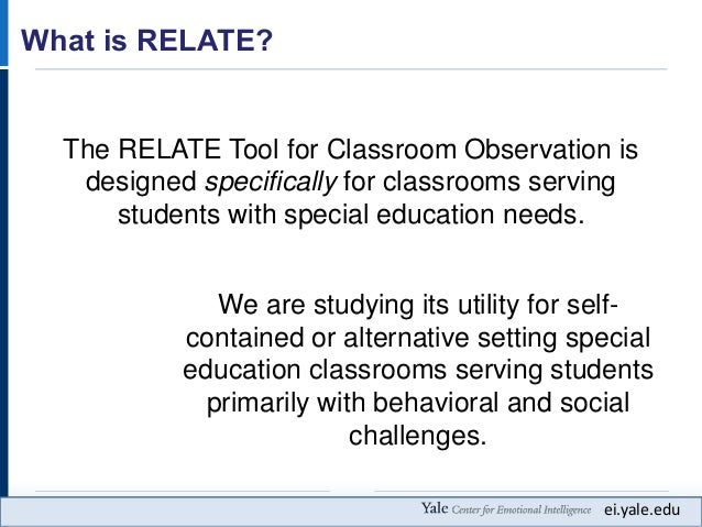 Collaborative Classroom Special Education : Improving students social emotional outcomes through