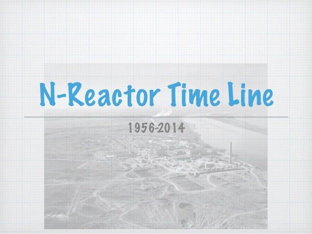 N-Reactor Time Line 1956-2014