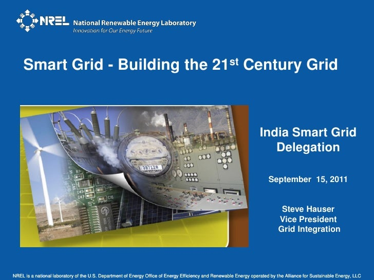 Smart Grid - Building the 21st Century Grid                                                                               ...