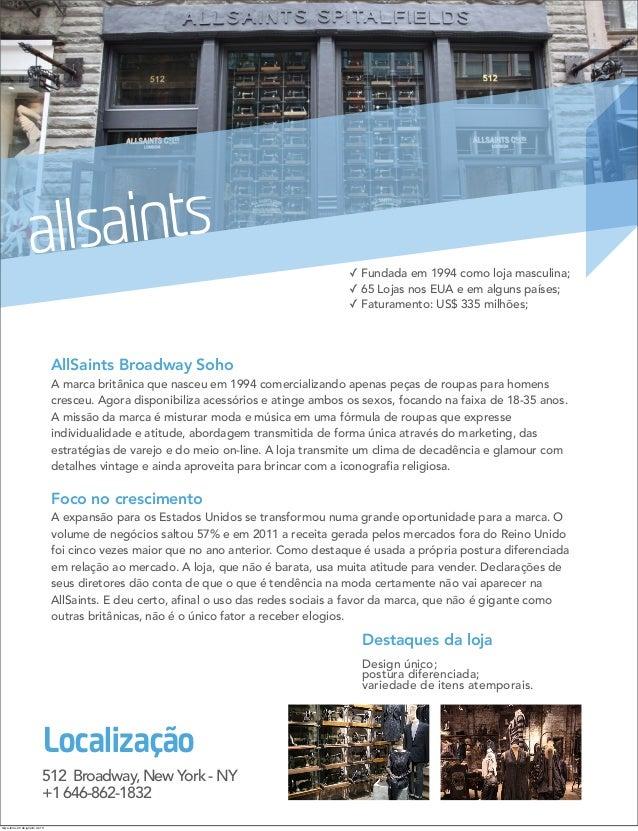 allsaints                                                                                          ✓ Fundada em 1994 como ...