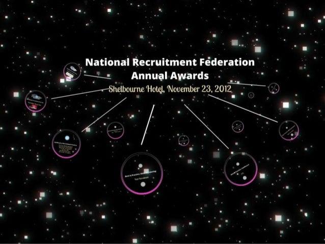NRF Awards 2012