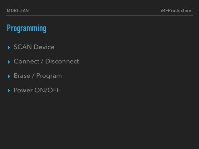 NORDIC nRF51, nRF52 & Cortex-M mass production solution