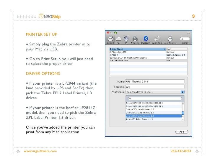 Zebra Lp2844 Mac Driver