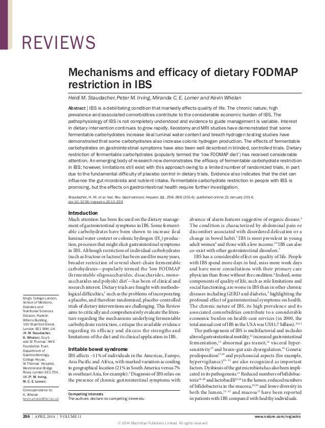 256   APRIL 2014   VOLUME 11 www.nature.com/nrgastro King's College London, School of Medicine, Diabetes and Nutrition...