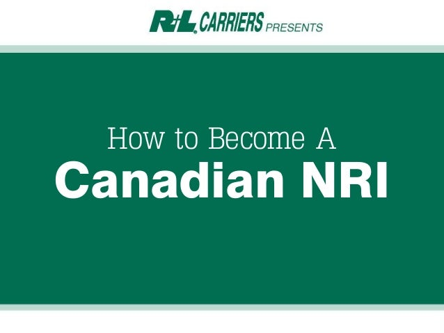 How to Become A Canadian NRI
