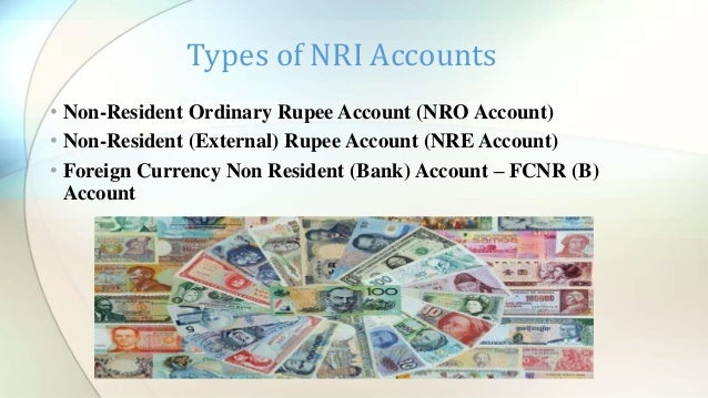 Nri Accounts And Its Types