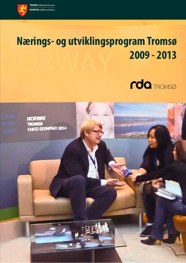Nærings- og utviklingsprogramTromsø 2009 - 2013