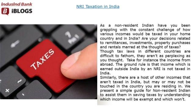 NRI Taxation in India