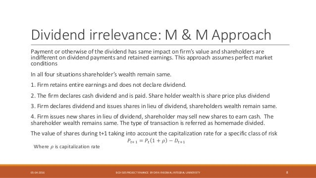 impact on shareholders wealth in m a Shareholder wealth effects of m&a withdrawals yue liu university of edinburgh business school, 29 buccleuch place, edinburgh, eh3 8eq, uk acquisition and the factors that have impact on.