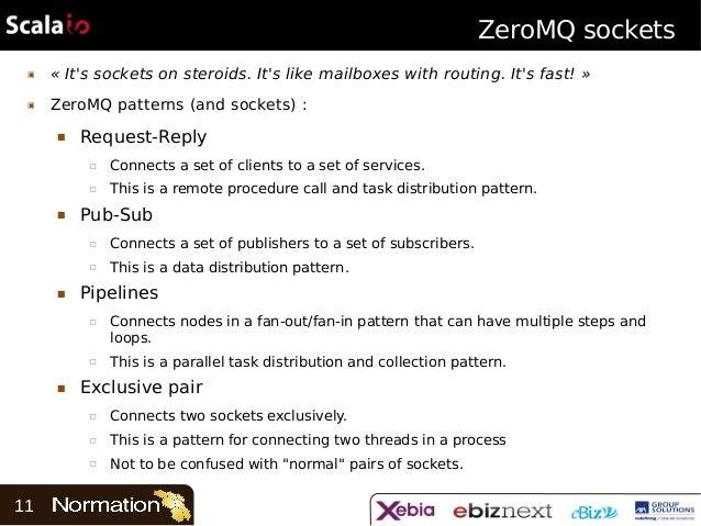 Scala io 2013 - Scala and ZeroMQ: Events beyond the JVM