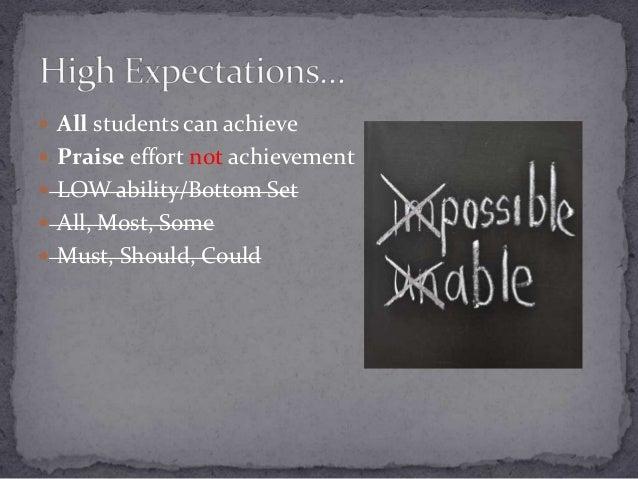  Motivation?  Behaviour?  English as an Additional Language?  Praise?