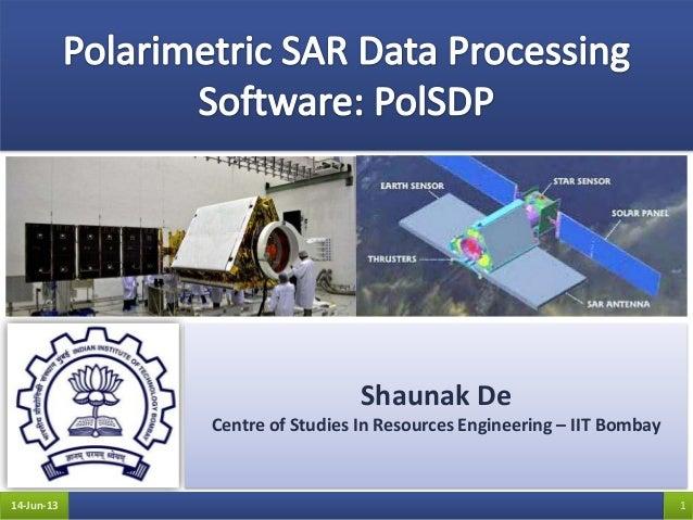 Shaunak DeCentre of Studies In Resources Engineering – IIT Bombay14-Jun-13 1