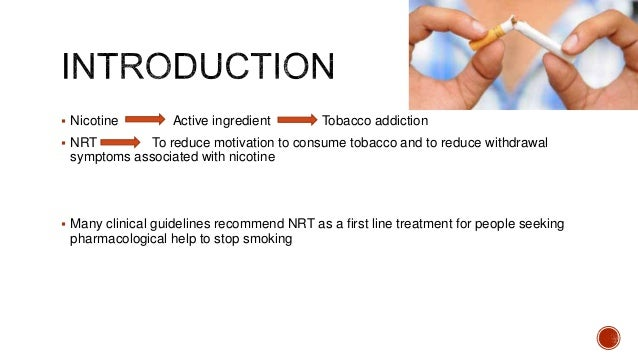 nicotine replacement therapy ppt