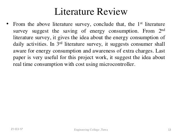literature review on saving electricity Uk literature review for energy saving trust advice on heat pump each section of the literature review provides a critical discussion of the issue.