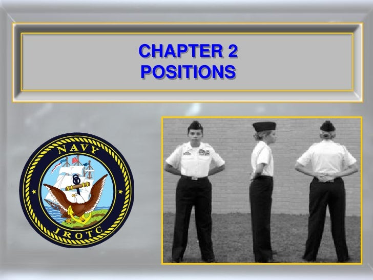 CHAPTER 2 POSITIONS