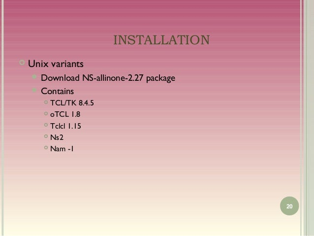 download ns 2