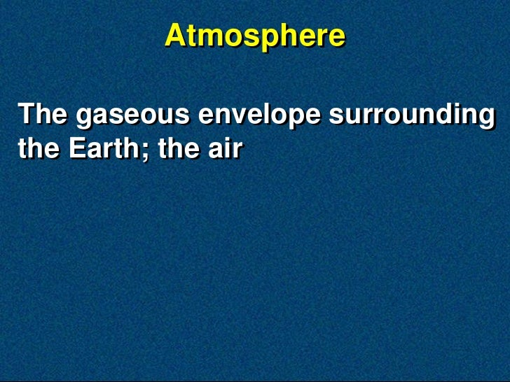 NS2 3.1 Our Atmosphere Slide 3