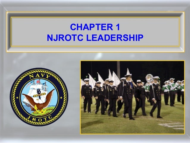 CHAPTER 1 NJROTC LEADERSHIP