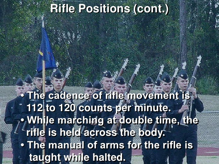 ns2 manual of arms with njrotc drill rifle rifle drill manual of arms Manuals of Arms 16-Count