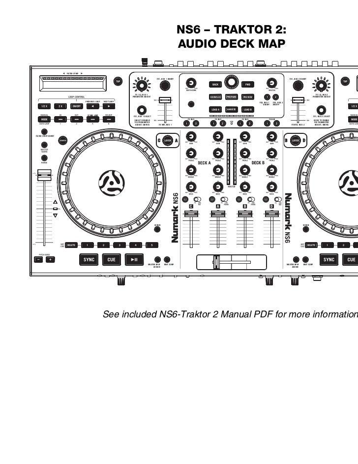 NS6 Traktor 2 Audio Deck Map v1.0