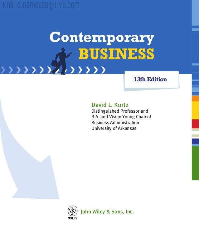 Contemporary business 13th edition fandeluxe