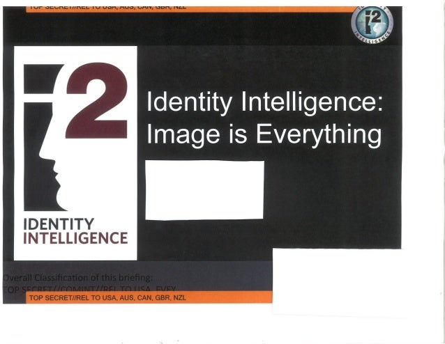 NSA Snowden Leak: Facial Recognition program - Identity Intelligence