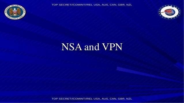 NSA and VPN