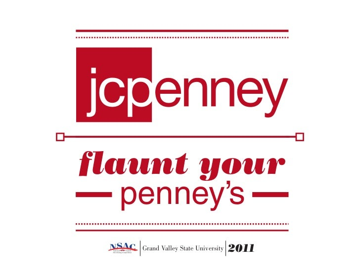 flaunt your   penney's   Grand Valley State University   2011
