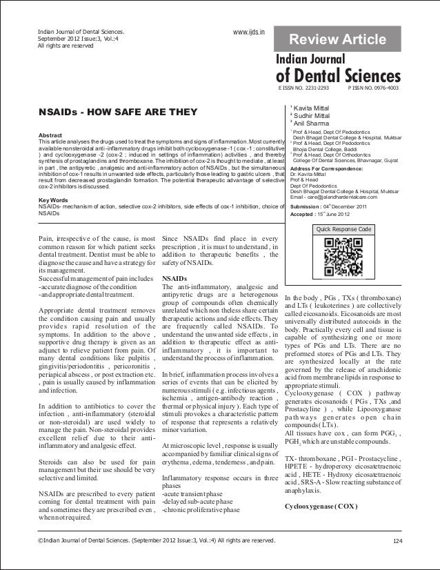 Indian Journal of Dental Sciences.                                                www.ijds.inSeptember 2012 Issue:3, Vol.:...
