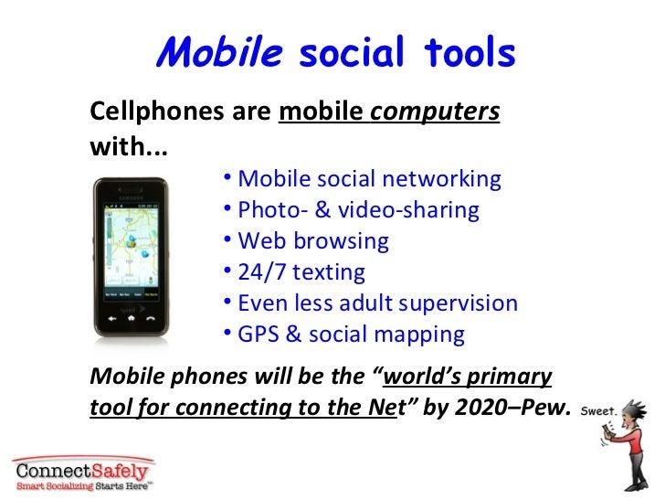 <ul><li>Cellphones are  mobile  computers  with... </li></ul><ul><ul><ul><ul><ul><li>Mobile social networking  </li></ul><...