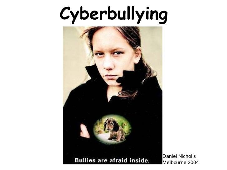 Cyberbullying Daniel Nicholls Melbourne 2004
