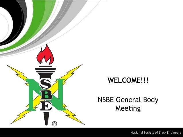 USF NSBE GBM 1 20 2016