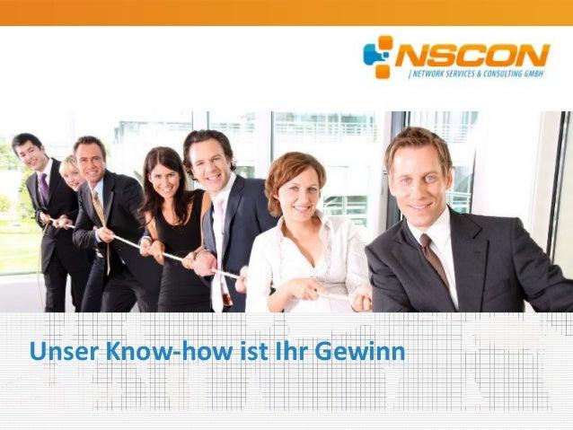 Unser Know-how ist Ihr Gewinn